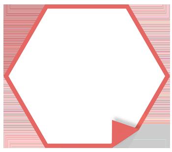 Polygonaufkleber